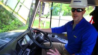 Komatsu HM300/400 Articulated Haul Truck   Cab Controls