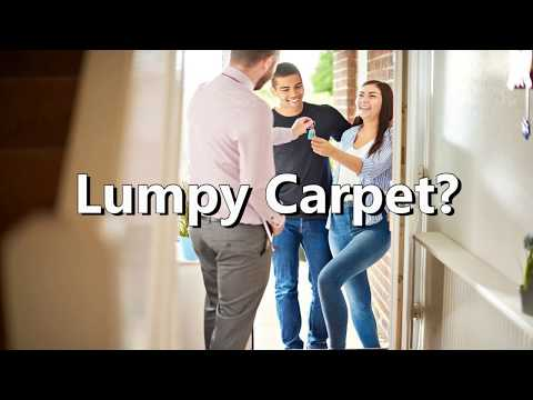 Carpet Re Stretching for First time home buyers