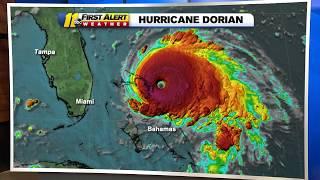 Hurricane Dorian 5pm Update: Dangerous Category 5 Storm Makes Landfall In Bahamas