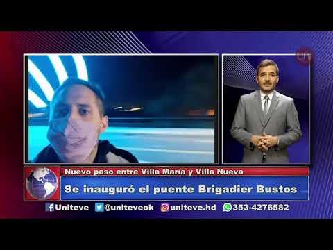 Se inauguró el nuevo puente Brigadier Bustos
