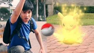 Pokemon Go!! Real Life