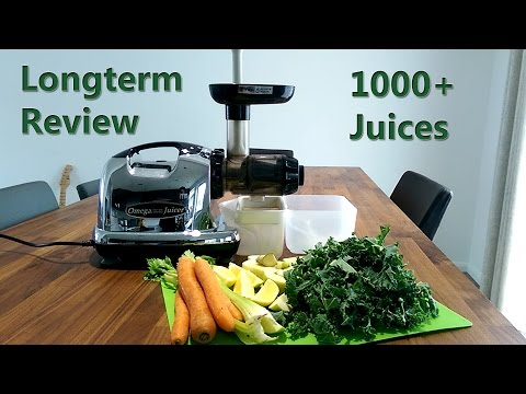 Omega 8006 Juicer Longterm Review after 1000+ Juices
