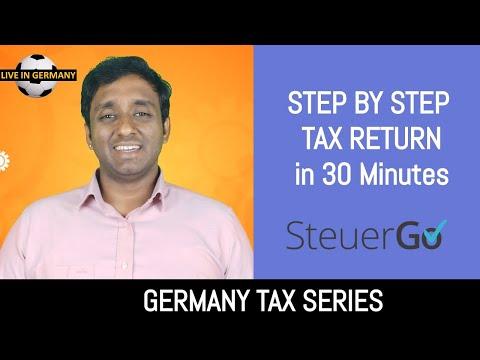 Germany Tax Return 2019 in English using SteuerGo 💰| GERMANY TAX SERIES