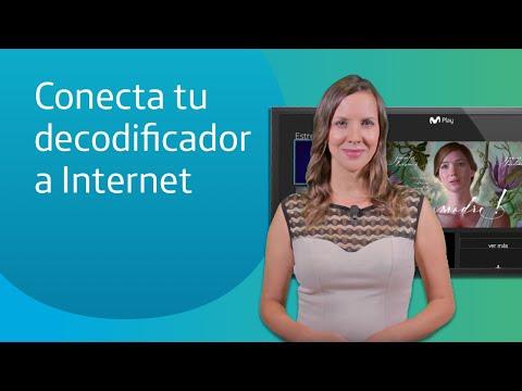 Conecta tu decodificador a Internet