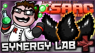 The Binding of Isaac: Afterbirth+ - Synergy Lab: ULTIMATE UNSTABLE NUCLEAR BALL OF POWER!