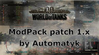 World of Tanks: Mods for patch 1.0.0 #4
