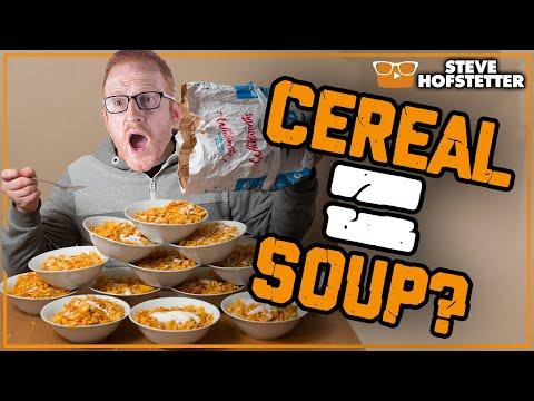 Is Cereal Soup? - Steve Hofstetter