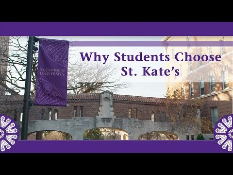 Why Students Choose St. Kate's - YouTube