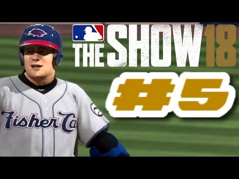 MLB The Show 18 PS4 Road To The Show Ep.2 (Road To MLB The Show 19 PS4 Road To The Show Ep.5)