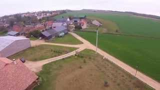 preview picture of video 'drone blade 350 gx3 avec camera hd cgo2 sud de Paris essonne france'