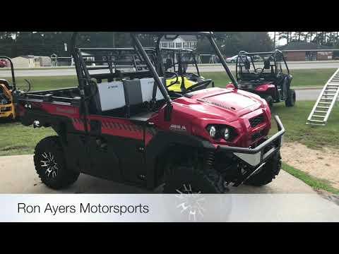 2018 Kawasaki Mule PRO-FXR in Greenville, North Carolina