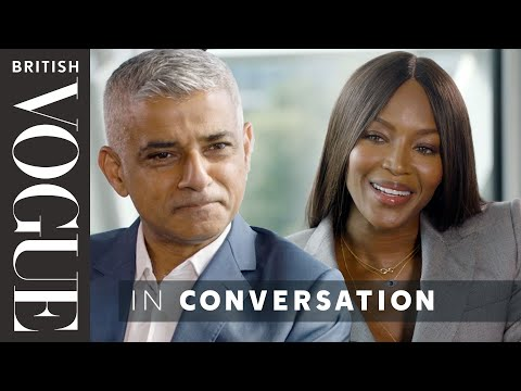 Naomi Campbell Meets… Sadiq Khan | The December Issue | British Vogue