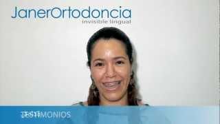 Testimonio vídeo. Contenta con su ortodoncia
