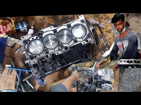 Hyundai Santro engine overhaul engine assembly