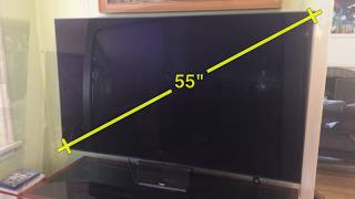 How to Measure Your TVs Screen Size