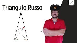 O Triângulo Russo (Desafio) | Problema de Geometria Plana de 100 anos atrás