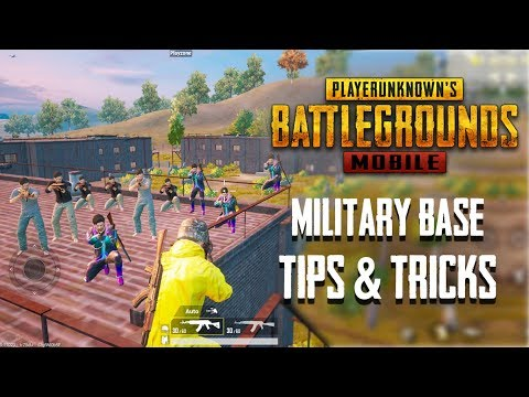 Top 20 Tips & Tricks For Military Base in PUBG Mobile   Ultimate Guide To Become a Pro #7