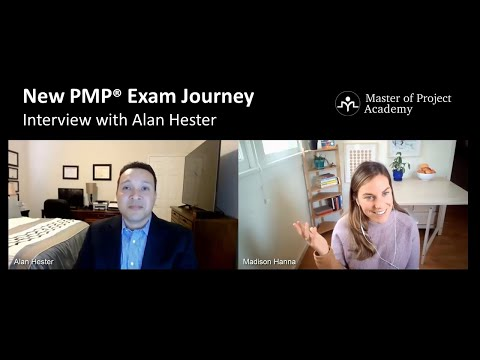 2021 New PMP Exam Experience Interview - Alan Hester Passed ...