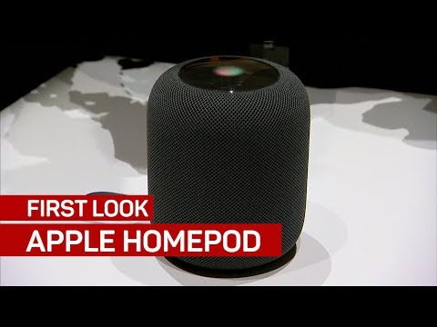 Apple's HomePod is a smart speaker for your home