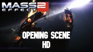 Mass Effect 2 - Opening Scene HD