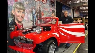 1946 Ford Grease Lightning John Travolta Hot Rod @ Volo Auto Museum My Car Story with Lou Costabile