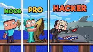 Hacker Pro Roblox Minecraft Museum Challenge Noob Vs Pro Vs Hacker Minecraftvideos Tv