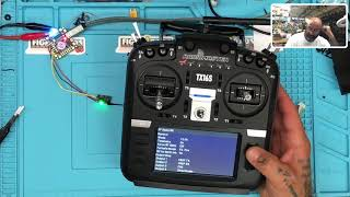 RadioMaster TX16S Setup With TBS Crossfire and NanoRX from Cyclone FPV