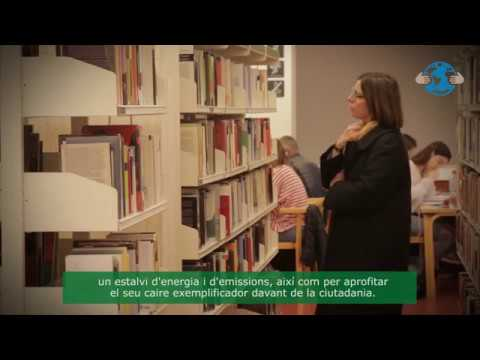 Eficiència energètica en biblioteques municipals