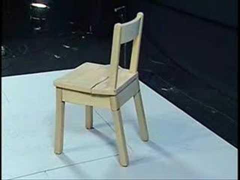 Samoskładalne krzesełko