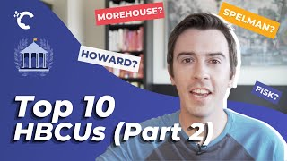 youtube video thumbnail - Top10 HBCUs (Part II)