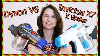 TEST Dyson V8 vs Invictus X7 XWater Test SoFie Haushalt Unperfekt Perfekt