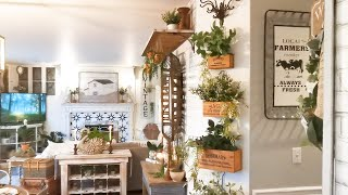 Spring Farmhouse Home Decor Tour