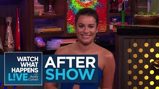 After Show: The Craziest Lea Michele Rumor | RHONY | WWHL