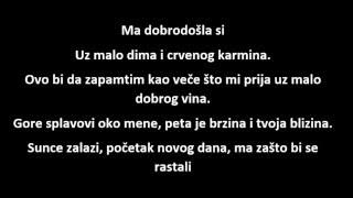 Vlada Matovic -  peta brzina tekst (lyrics)