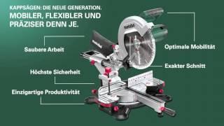 Metabo Kappsägen - Die neue Generation (German) (Langversion)
