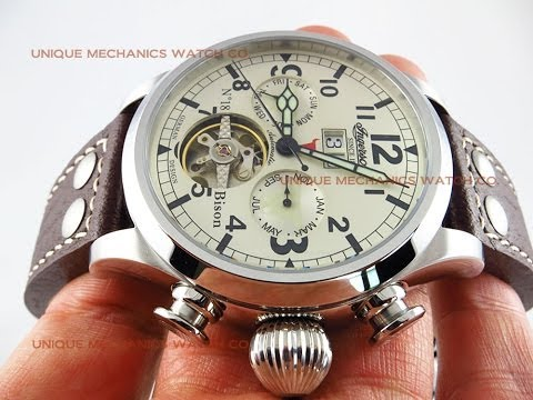 Ingersoll Watch IN4506WHGR Bison No. 18 Automatic German Design Review