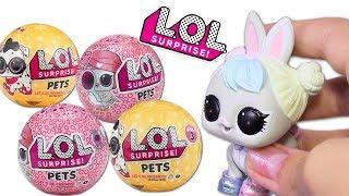 ЛОЛ ПИТОМЦЫ Мечты сбываются Куклы LOL Surprise Pets Игрушки #Сюрпризы Распаковка Lalaloopsy Вероника