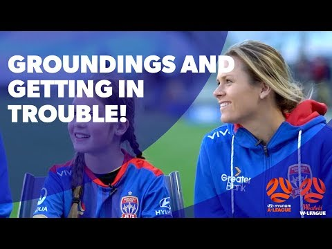 You've Gotta Have A Team 2017/18 – Eva Roy and Cassidy talk groundings getting in trouble