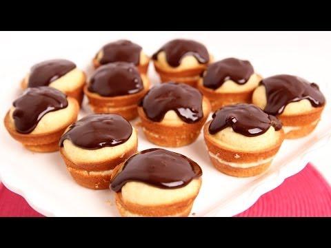 Boston Cream Cupcakes Recipe – Laura Vitale – Laura in the Kitchen Episode 737