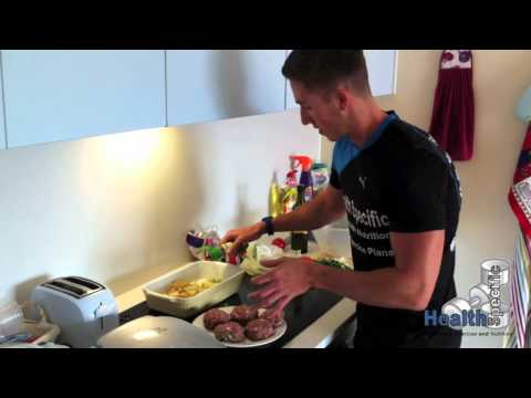 Video Homemade Healthy Burgers