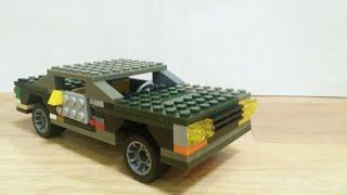 Сборка машины с независимой подвеской из лего