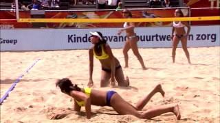 Пляжный волейбол  лучшие моменты