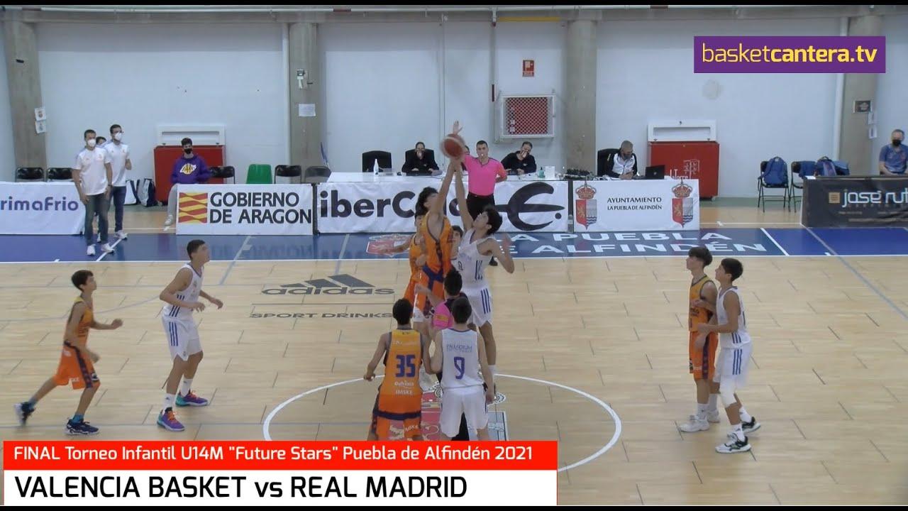 U14M - Final VALENCIA BASKET vs REAL MADRID. Torneo Infantil