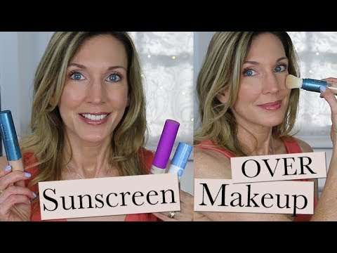 Sunscreen Over Makeup ~ Mineral Powder Sunscreen Reviews