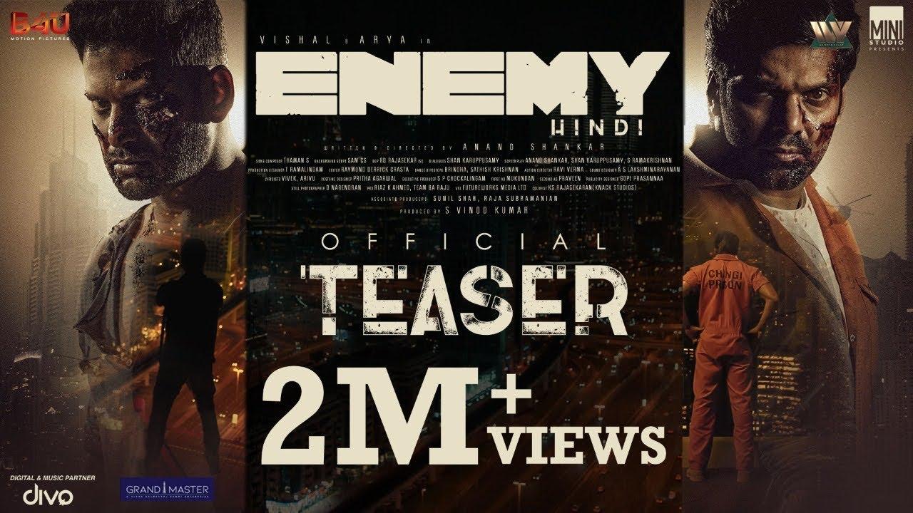Enemy Hindi Dubbed Full Movie teaser Download Filmyzilla