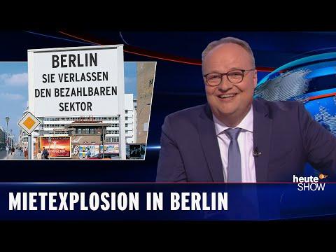Pět let koalice SPD, Die Linke a Zelených: Jak zničený je Berlín? - heute show
