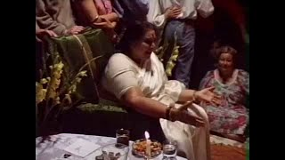 Public Program and Shri Mataji working on Seekers (video) thumbnail