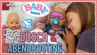 BABY BORN Abendroutine | Dusche & Toilette Zapf Creation | 1. Advent + GEWINNSPIEL | DIANA DIAMANTA