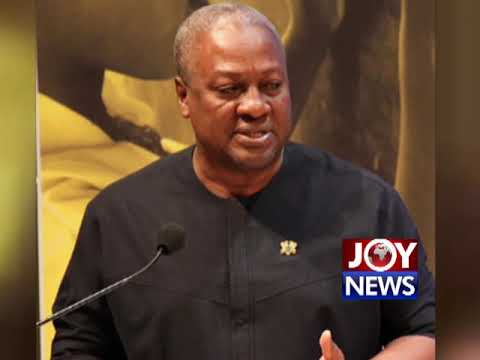'Journalists should not be killed in cold blood' - Mahama urges. (17-1-19)