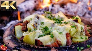 BEST RACLETTE EVER! – Cheese Pron in 4K